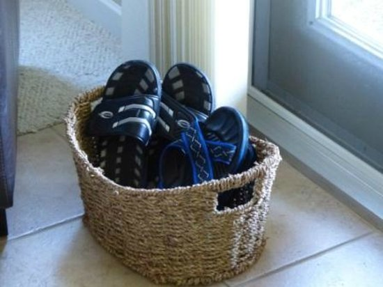 Beachcomber B&B: Shoes for use on the beach