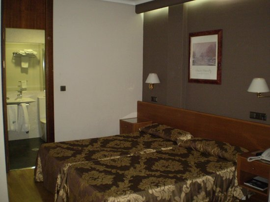 Hotel Sercotel San Jose: Dormitorio principal.