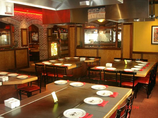 2e17471d638a Each table holds up to 8-10 people! - Picture of Kobe Japanese ...