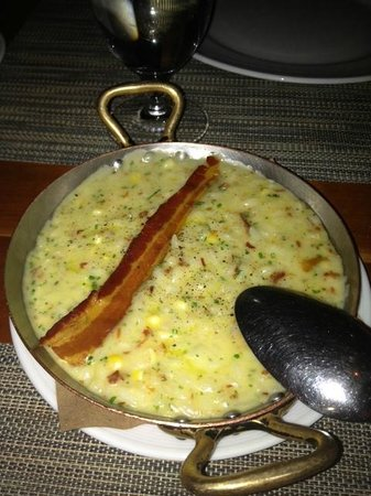 Craft: Risotto with bacon and corn