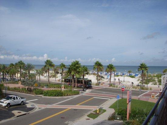 Beachwalk Inn: View from the 3rd floor balcony