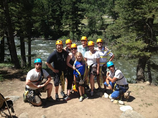 Montana Whitewater Raft Company : Best Ziplining Adventure EVER!