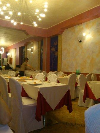 Piazza Risorgimento: Saletta ristorante