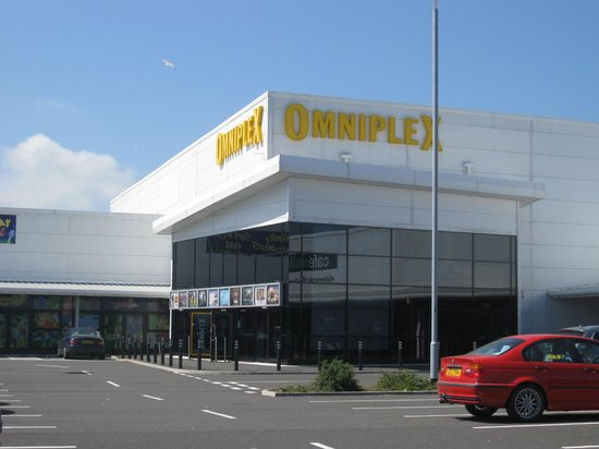 Larne Omniplex: The entrance.