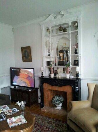 Hotel Edouard VII : salón interior