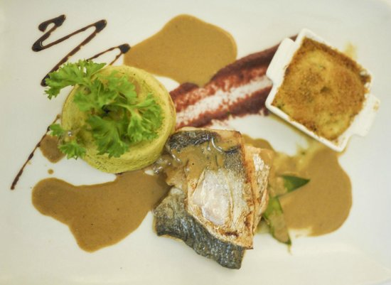 Morel's: Sea Bass (I think)