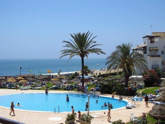 VIK Gran hotel Costa del Sol: vista desde mi habitacion