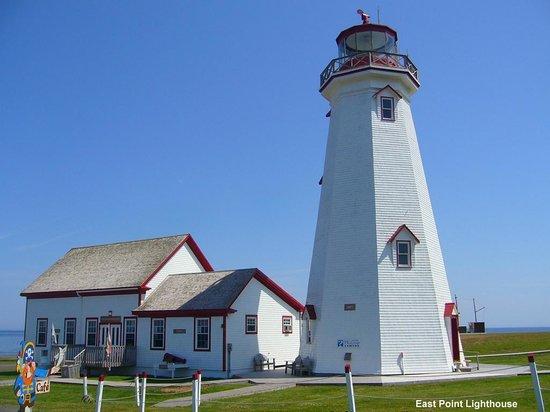 East Point Lighthouse : lighthouse