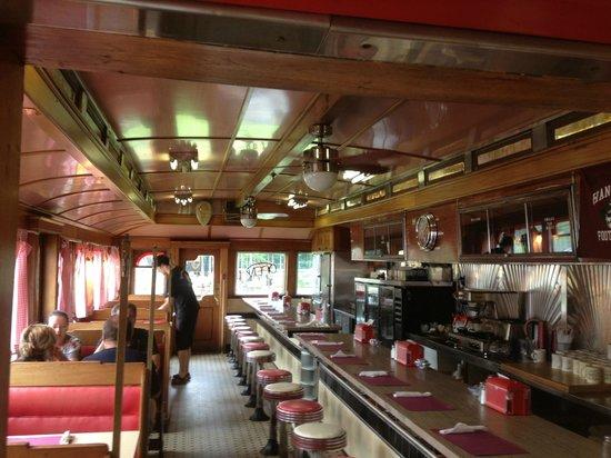 Quechee Diner: Cool inside