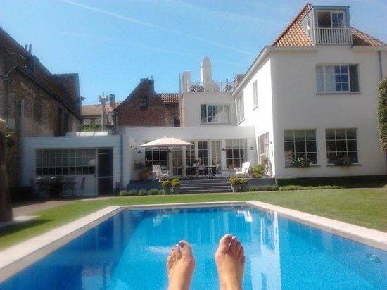 Casa Romantico: Farniente au bord de la piscine