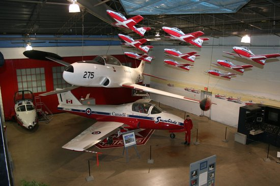 Moose Jaw, Kanada: Snowbirds Gallery
