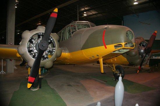 Western Development Museum: Avro Anson trainer