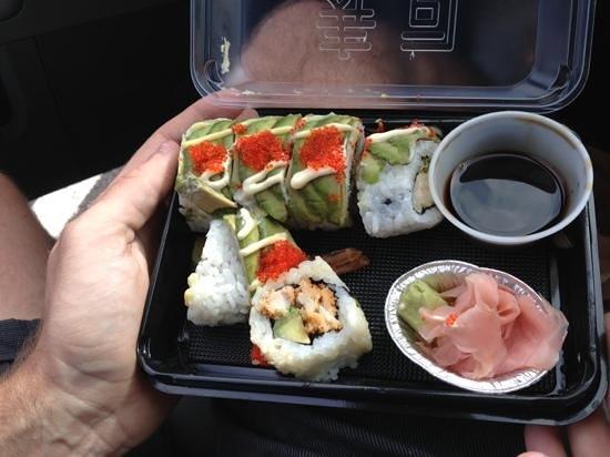 Sushiya: take away your left overs