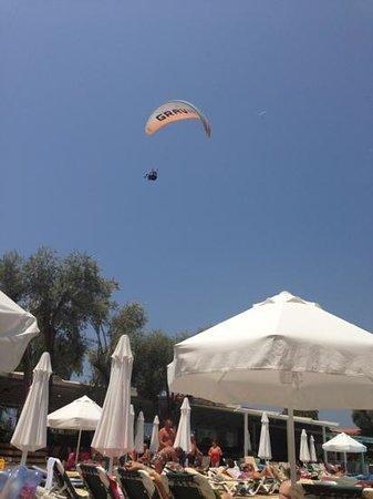 Club Belcekiz Beach Hotel: para glider
