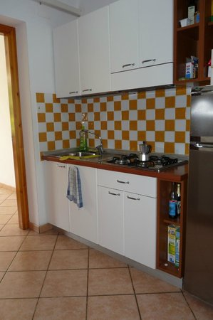 Costa Real Tropea: APPARTAMENTO cucina