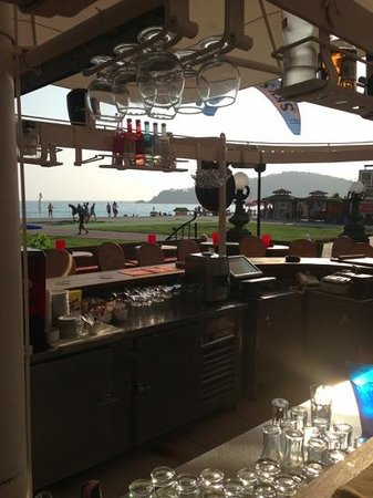 Club Belcekiz Beach Hotel: beach bar