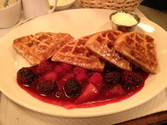 "Balthazar: Waffle: ""the best ever""!"