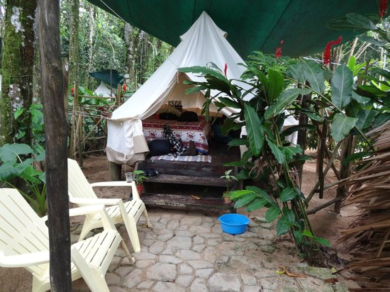 Palmar Beach Lodge : Tenda