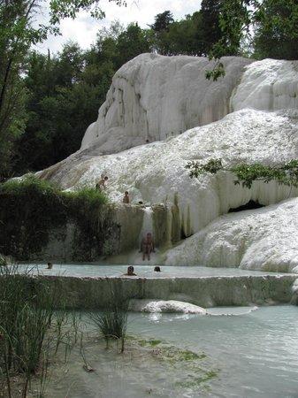 Bagni di San Filippo, Italien: la balena bianca!!! -1