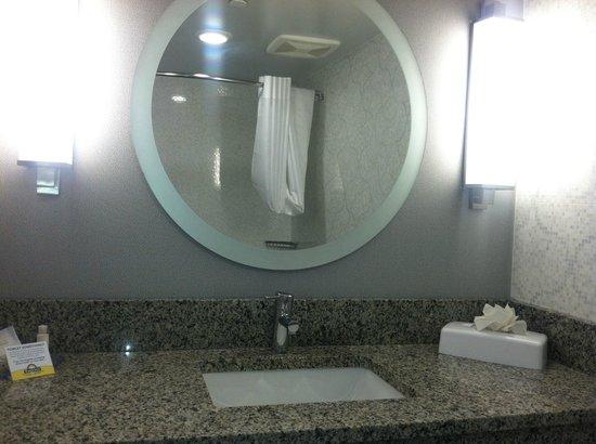 Comfort Inn Williamsburg Gateway: Bathroom... was very pretty.