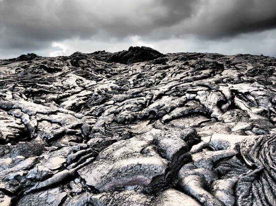 Kalapana Cultural Tours: Like another planet (dramatic filter)