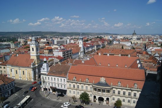 View from the St. Michael's Church in Cluj-Napoca
