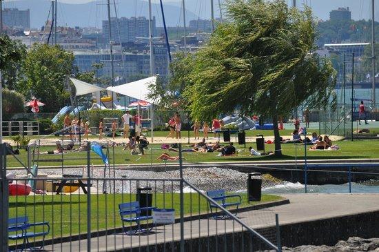 Geneve-Plage: The beach