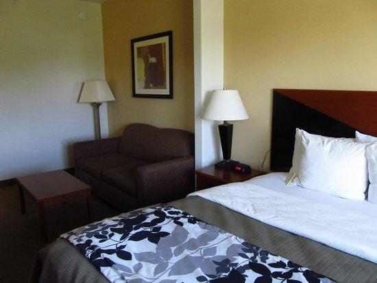 Sleep Inn & Suites: Large Room
