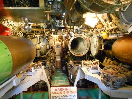 Seawolf Park: Torpedo station