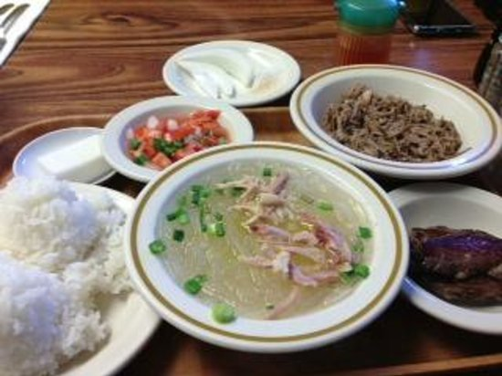 People's Cafe: Kalua Pig Plate Special