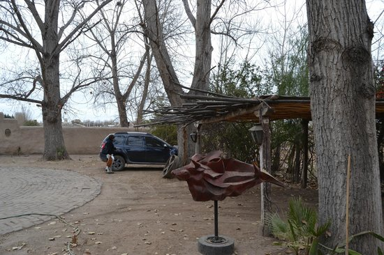 Molino la Tebaida : Julio 2013 - Estacionamiento