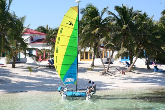 Tranquility Bay Resort: Perfect location for sailing