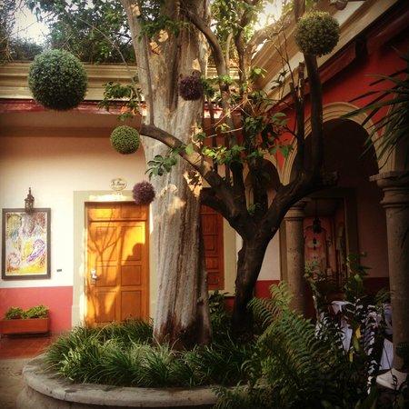 Gran Casa Sayula Hotel Galeria & Spa : Uno de los patios interiores
