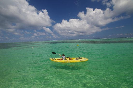 Tranquility Bay Resort: Kayaking for the whole family