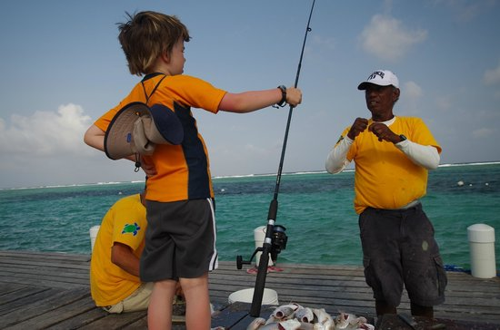 Tranquility Bay Resort: Fishing for all ages