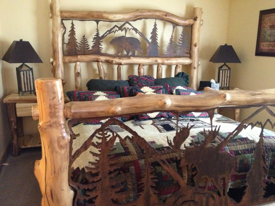 Woodstock Inn, Station & Brewery: Swiftwater Bedroom in Cascade House