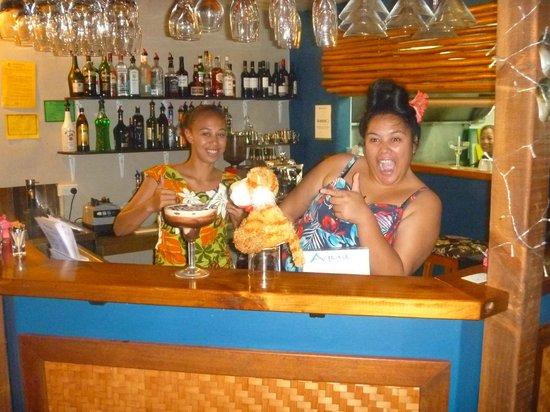 Aqua Restaurant: Fantastic Staff