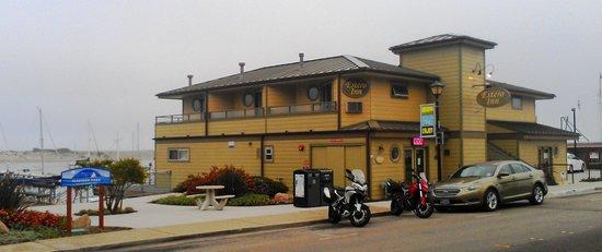 Estero Inn: The Inn and city park next door