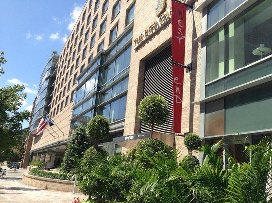 The Ritz-Carlton, Washington, DC: The front of the Hotel