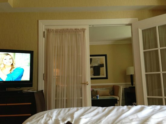 The Ritz-Carlton, Washington, DC: this was our 1 bedroom suite