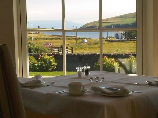 Emlagh Country House: View from breakfast room