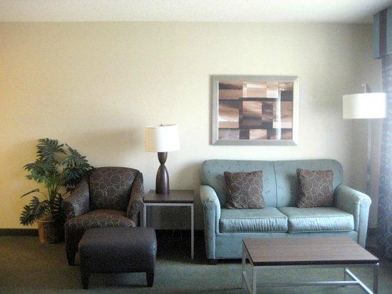Hampton Inn & Suites by Hilton Halifax - Dartmouth: Living room