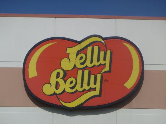 Jelly Belly Center: Sign outside building