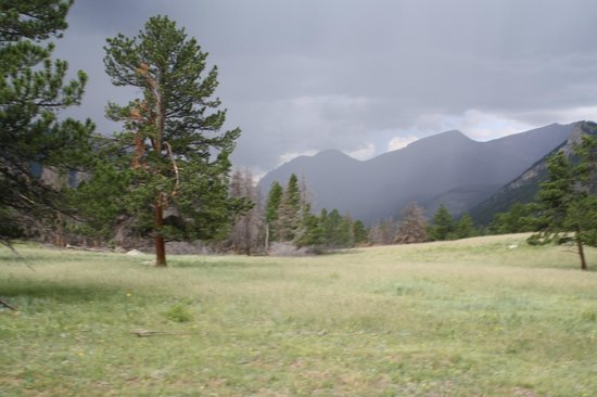 National Park Gateway Stables: The storm coming our way!