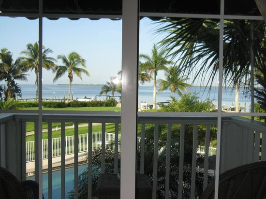 Tarpon Lodge & Restaurant: View from our room