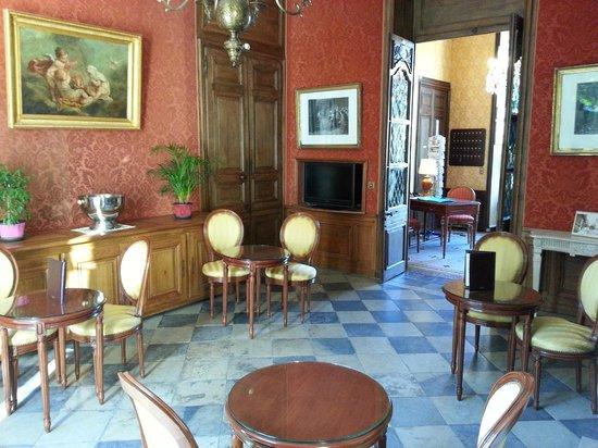 Hotel d'Argouges: lobby area