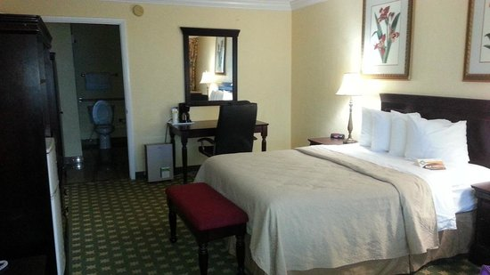 Quality Inn & Suites On The Beach: one queen room