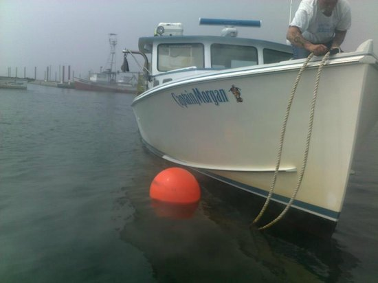 Erica's Seafood: One of the Fishing Vessels (F/V Captain Morgan)