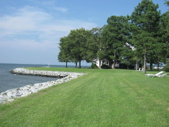 Wades Point Inn on the Bay : View of the bay