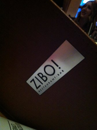 Zibo: Le menu
